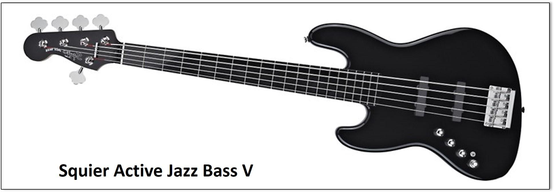 Bajo fender Squier V String profesional para bajistas intermedios y profesionales