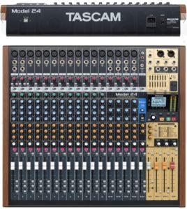 Fotografía Tascam Model 24