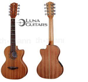 Fotografía Los mejores Ukeleles Luna Guitars Tenor