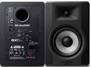 Los mejores monitores de estudio M-AUDIO