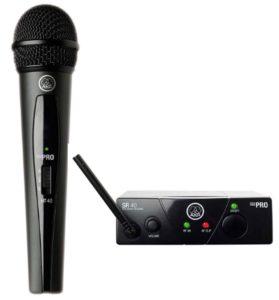 Fotografía Micrófonos cardioides vocal AKG WMS40