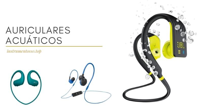mejores auriculares actuaticos