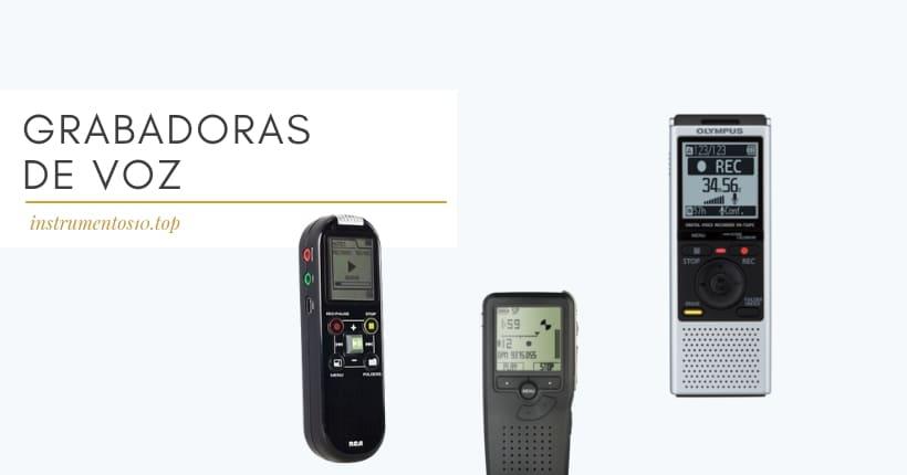 grabadoras de voz