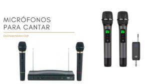 micrófonos inalambricos